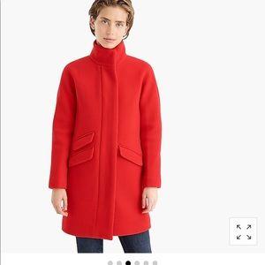 Jcrew cocoon coat